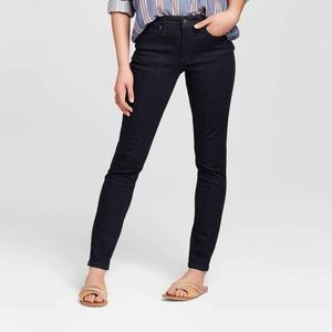 Universal Thread High-Rise Skinny Dark Wash Jeans